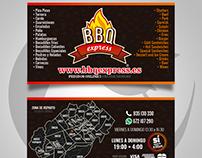 Tarjeta de presentación • BBQ EXPRESS