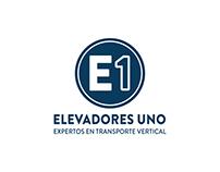 Identidad Gráfica - Elevadores Uno - E1