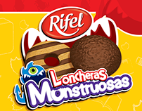 Rifel.- Meriendas Monstruosas. [Trade Marketing]