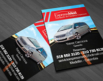 Business Card for Express Med