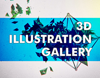 3D Illustration Gallery - 2016