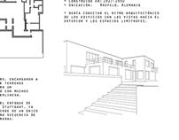 Casa Lange - Mies Van Der Rohe (digital sketching)