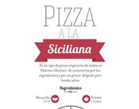 Instructivo Pizza a la siciliana