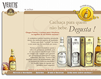 Website Cachaça Veritas