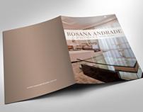 "**IMPRESSO** Folder ""Rosana Andrade"""