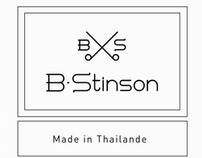 B-Sinson, identité visuelle (chemises sur mesures)