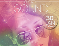 Short Sound Flyer Party
