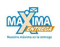 Logo y papelería para Máxima Entrega