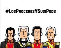 Los Próceres y sus iPods