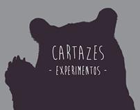 Cartazes | Experimentos