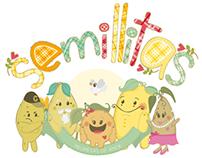 Personajes // Characters Semillitas - Cliente Asuimagen