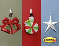 Voice Over for 3M Command Christmas Campaign