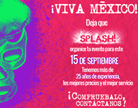 Event promotion / Promoción de eventos.