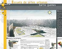 Escuela de Artes Urbanas - Legajo