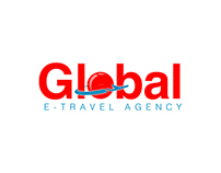 Global E-Travel Logotype Design