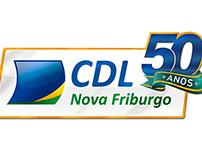 Selo CDL 50 anos