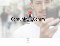 Comunicacomm - Homepage