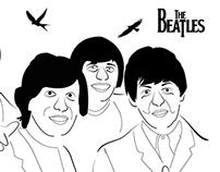 Original iIustración - The Beatles