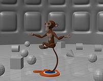 Blender - Monkey Suzanne