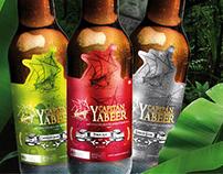 Diseño de etiqueta y montaje fotográfico, cerveza