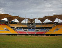 Cubierta Estadio Metropolitano de Béisbol