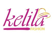 logotype kelila fashion