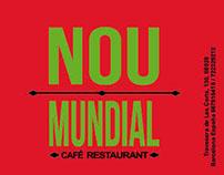 Diseño para Restaurant Nou Mundial