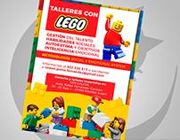 flyer design - Raquel Graña - Lego