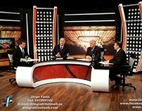 Escenografia - Pasión Basquetbol 2014 - VTV Uruguay