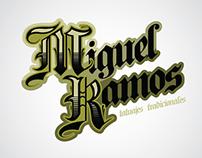 Miguel Ramos Logo y fotolibro