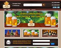 Projeto Web design: Cervejaria