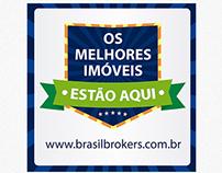 OS MELHORES IMÓVEIS ESTÃO AQUI - BRASIL BROKERS