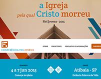 Site Conferência Fiel Jovens 2015