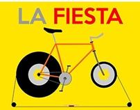 Cartel Fiesta de la Bicicleta