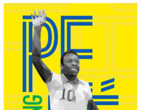 Pelé - Lowpoly Portraits '11 Collection