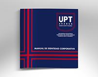 Rediseño de logotipo y manual de identidad corporativa.