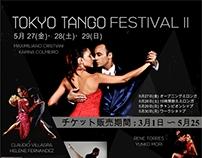 FLYER TOKYO TANGO FESTIVAL II