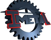 Tridimensionalización Logo Imetal