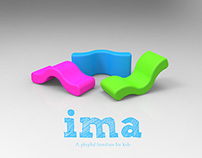 Ima, a playful chair