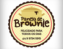 Logo Panela de Brownie