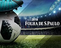 Copa 2018 Folha de São Paulo