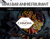 Web Design Tapas Bar and Restaurant