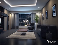 Model interior 3DMax