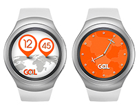 GOL Watch face for Gear S2