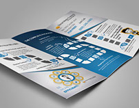 D-Sol Media Marketing.Trifold Brochure Design.