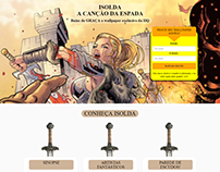 Isolda - Landing Page