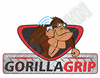 LOGO AND CHARACTER DESIGN for Gorilla Grip from USA