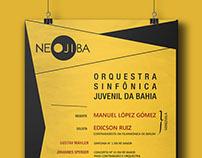 Orquestra Juvenil da Bahia - Cartaz