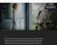 Jurassic World Web