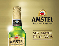 Amstel Game para evento organizado por Cool Marketing